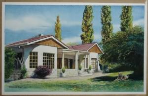 Sue-Elize Henning's home, near Steysnsburg.