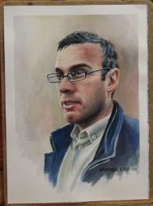 Sean Frewen's portrait