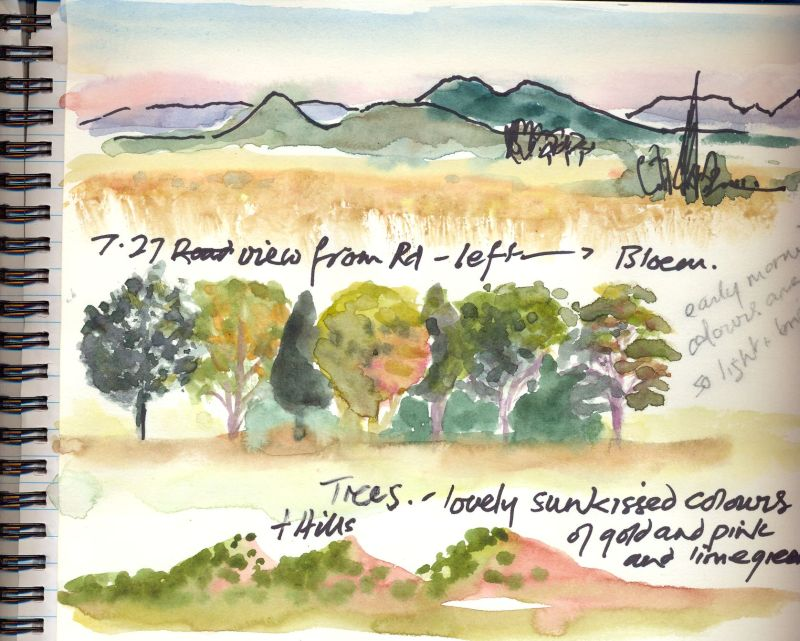 Travel sketch-2