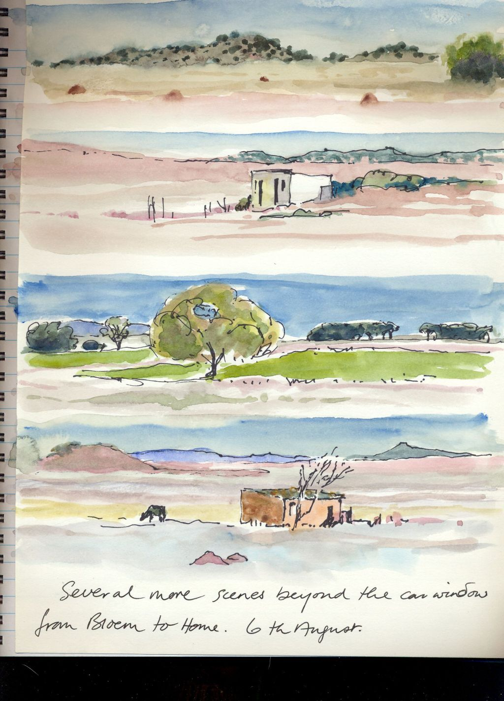 Travel sketches 3