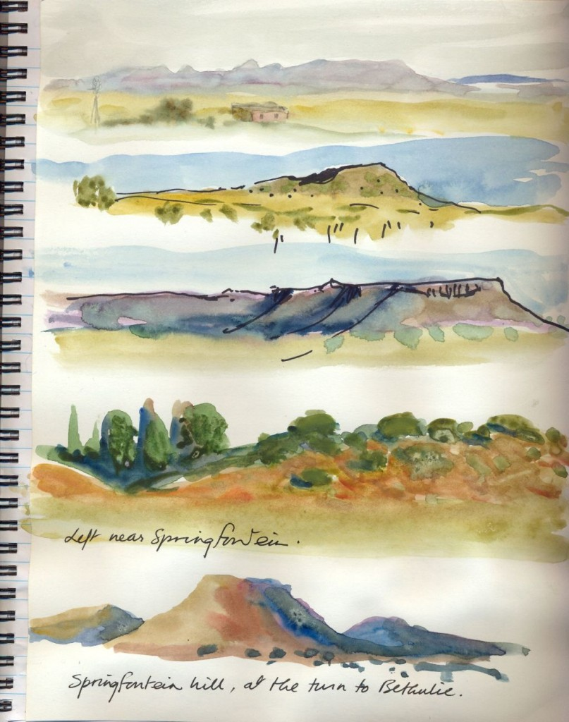 Travel sketches 4