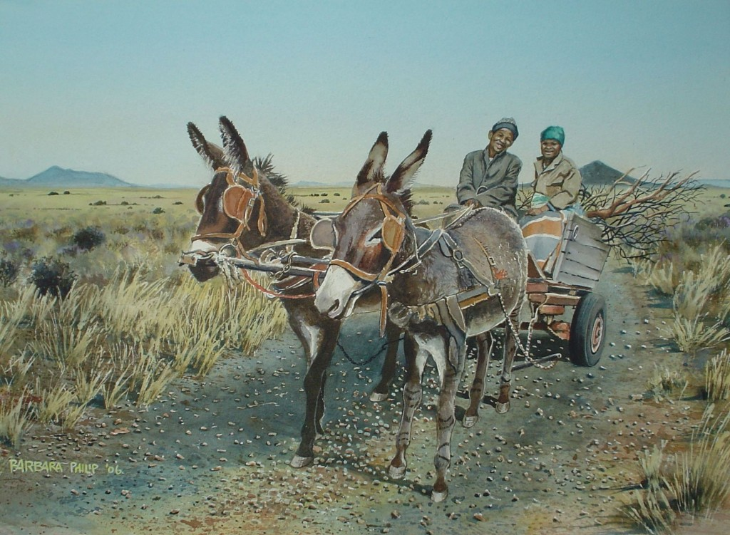First Donkey Cart, sold in Ermelo in 2006.