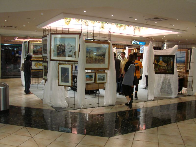 View from the outside of the display, Centre Court, Walmer Park.