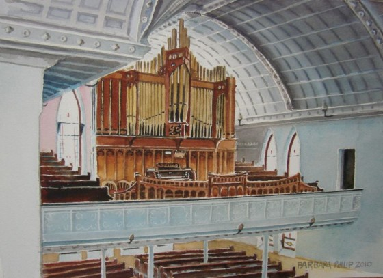 The Organ Balcony