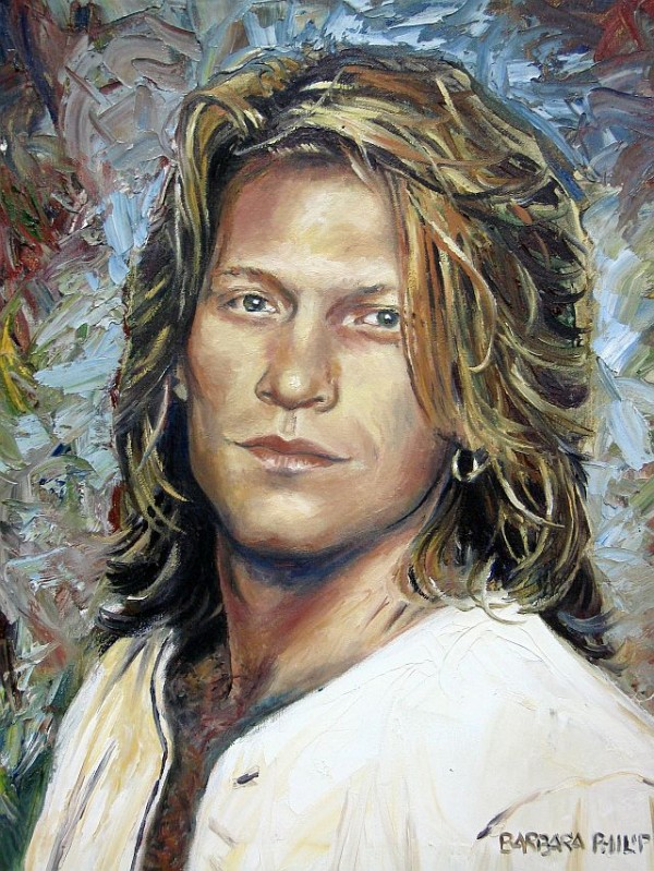 portrait of Jon Bon Jovi, 1995